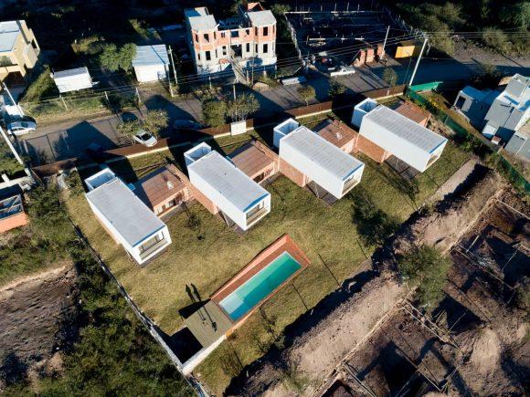 Дома на склоне в Аргентине