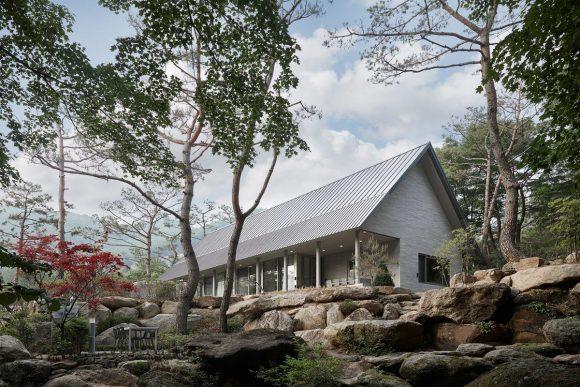 Просто дом в Корее