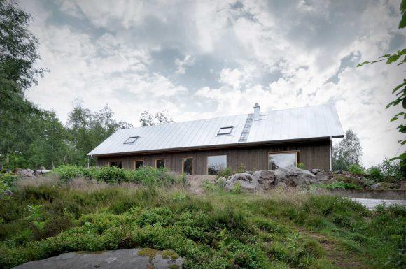Деревенский дом в Швеции