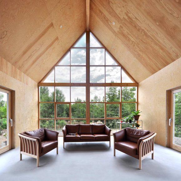 Дом-сарай в Швеции от Jonte Norin.