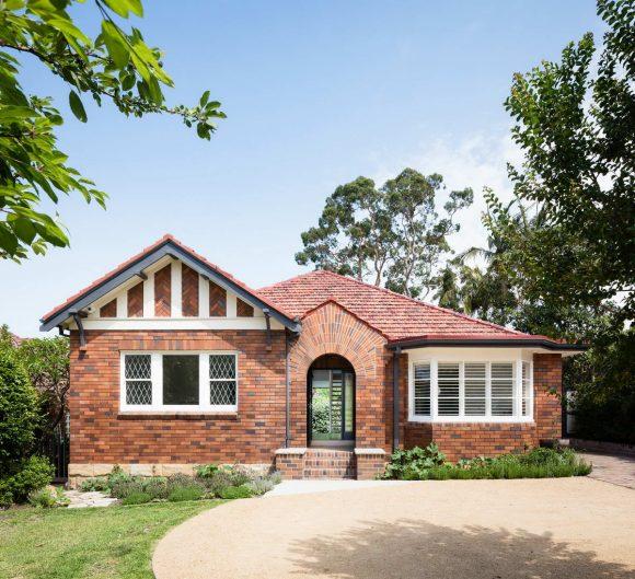 Пригородный дом в Австралии от Tribe Studio.