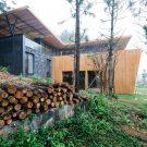 Тиковый дом во Вьетнаме от Pham Thanh Huy.