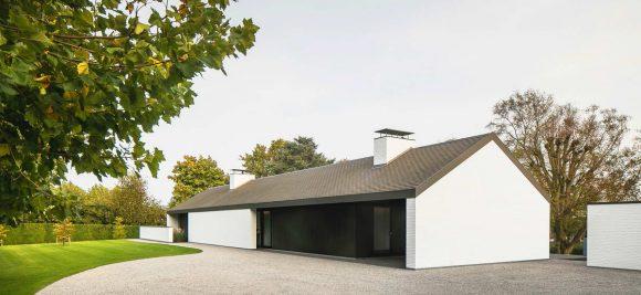 Дом-сарай в Бельгии
