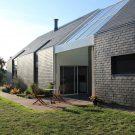 Биоклиматический дом во Франции от J Guillo Architecte.