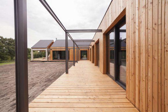 Деревянный дом в Польше