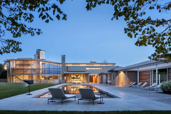 Резиденция Хэмптонз в США от Bohlin Cywinski Jackson.