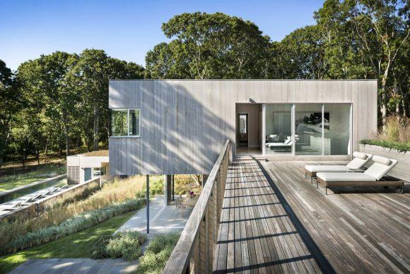 Дом на холме в США от Leroy Street Studio.