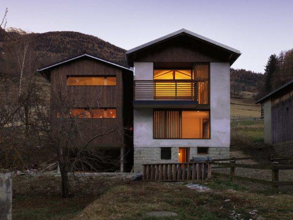 Двойной дом в Швейцарии
