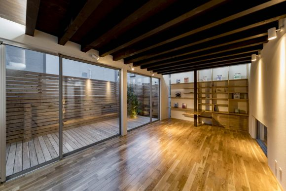 Расширение дома в Японии