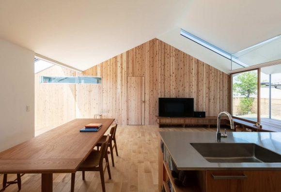 Очень японский дом