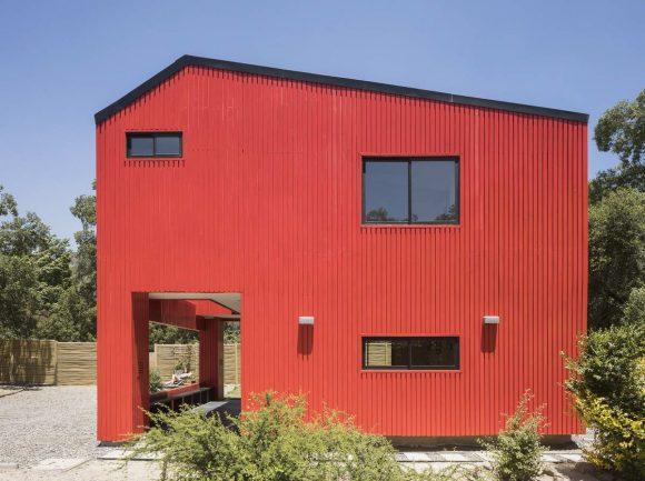 Красная дача в Чили