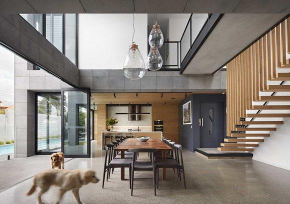 Карьерный Дом в Австралии от Finnis Architects.
