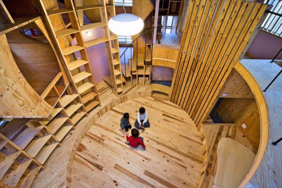 Дом для развития в Японии