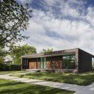 Кирпичный городской дом в США от Studio B Architecture + Interiors.