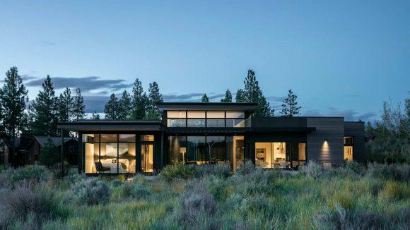 Современный дом в США от DeForest Architects и NB Design Group.