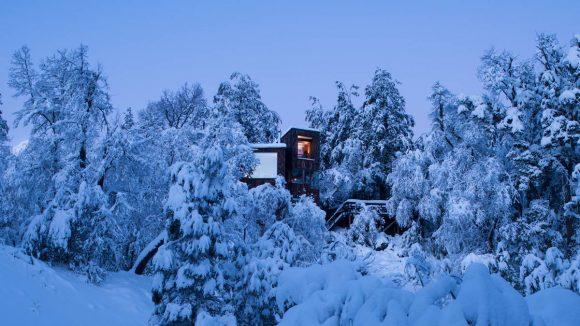 Дача в горах в Чили от DRAA.