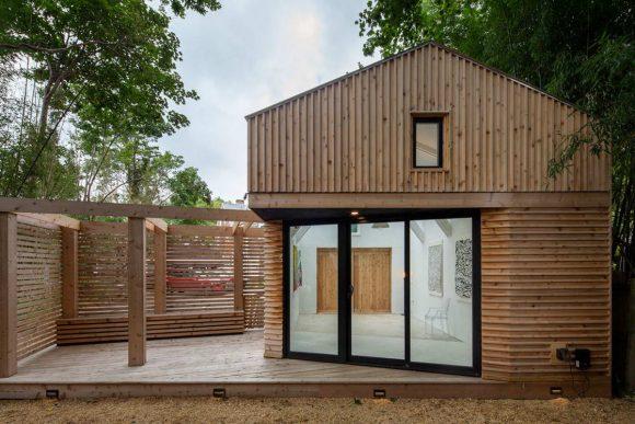 Микро-Сарай в США от Edgar Papazian architect.