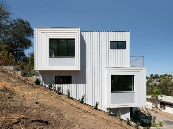 Дом на склоне в Лос-Анджелесе