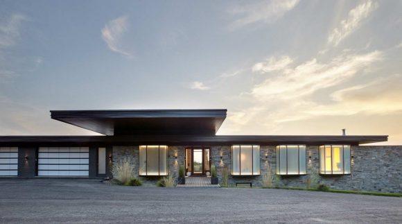 Резиденция Стауфвьилл в Канаде от Trevor McIvor Architect.