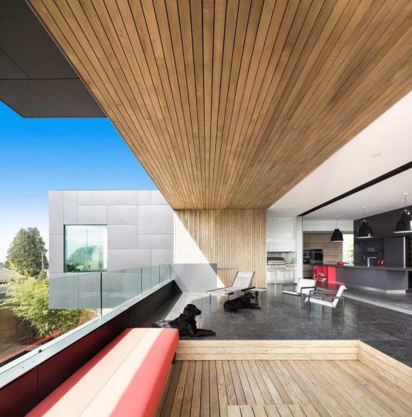 Контейнерный Дом в Канаде от McLeod Bovell.