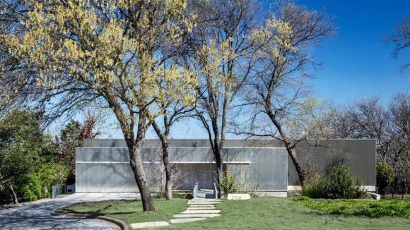 Минималистский дом в США