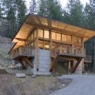 Домик Винтергрин в США от Balance Associates Architects.