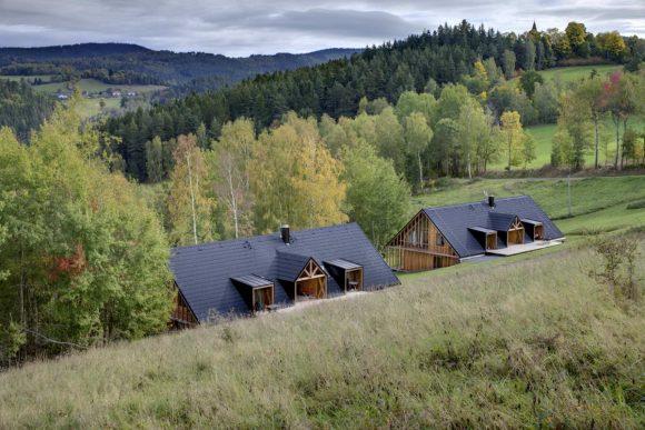Два дома для отдыха