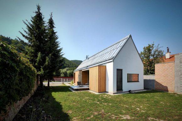 Деревянный дом в Словакии от Jaromir Krobot.