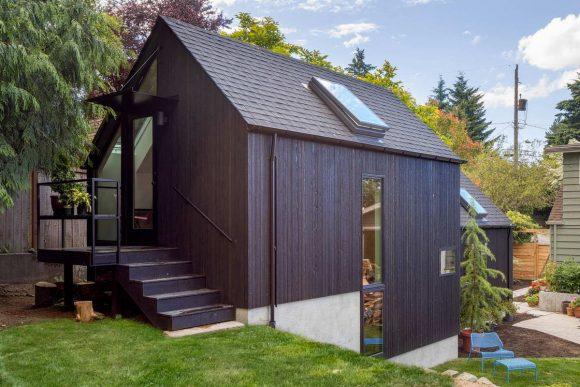 Бабушкин домик в США от Best Practice Architecture.