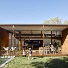 Дом на Грешем-стрит в Австралии от Jackson Teece.