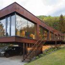 Дом Хайнбург в Австрии от a3um atelier.