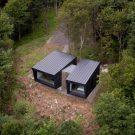 Резиденция Бинокль в Канаде от Naturehumaine.