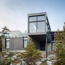 Дом «Длинные Горизонтали» в Канаде от Thellend Fortin Architectes.