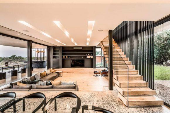 Модернистский дом в Южной Африке