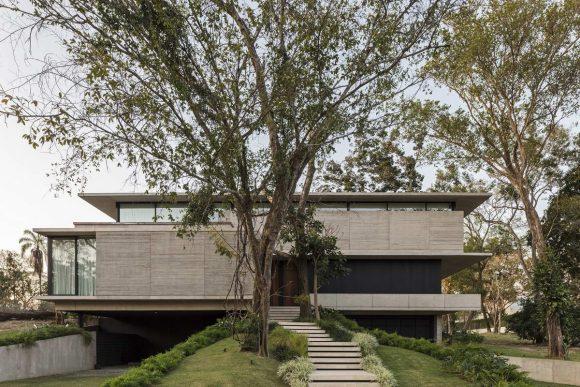 Модернистский дом в Боливии