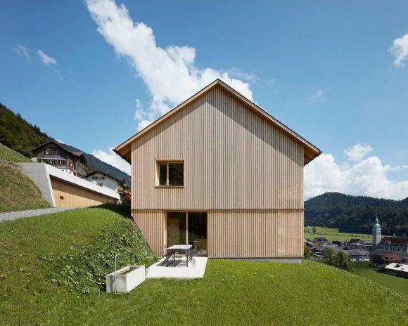 Альпийский дом в Австрии