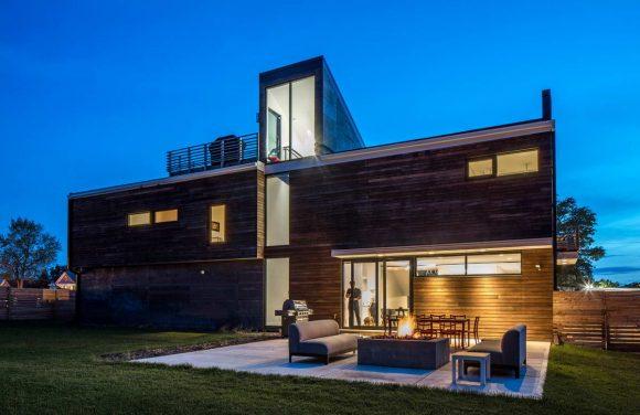 Модернистский дом в США