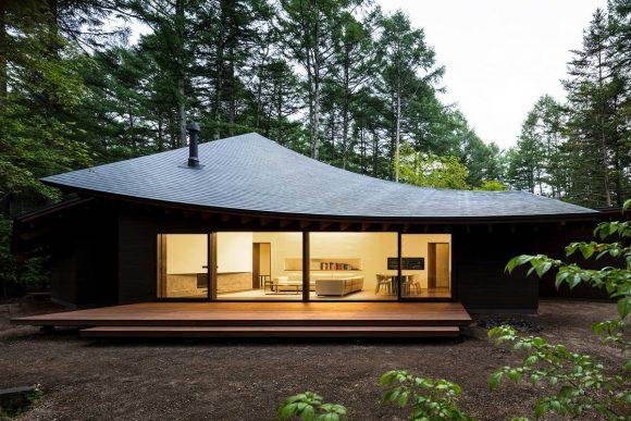 Органический дом в Японии