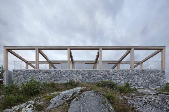Квадратные дома в Швеции