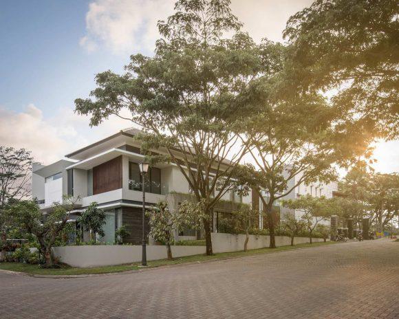 Городской дом в Индонезии
