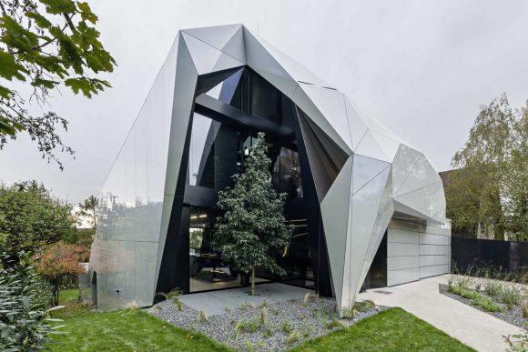 Дом-кристалл в Австрии
