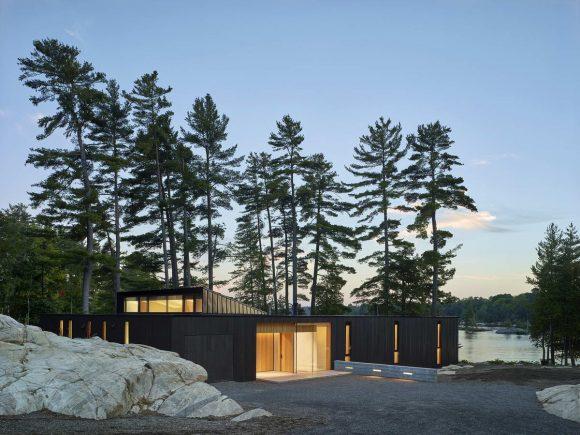 Дом мечты у озера