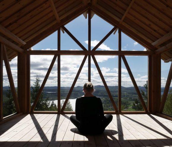 Дом-чердак в Швеции от Tham & Videgard Arkitekter.