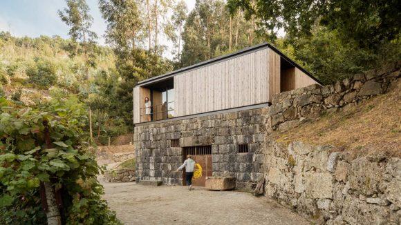 Минималистский домик в Португалии