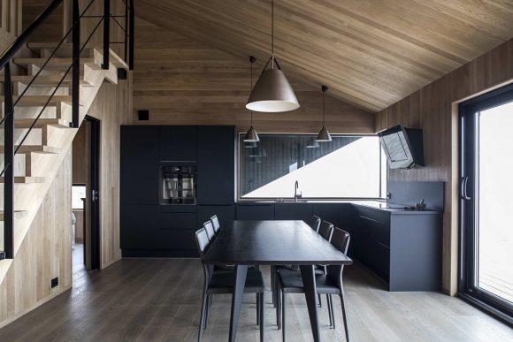 Хижина с капюшоном в Норвегии от Arkitektv?relset As.
