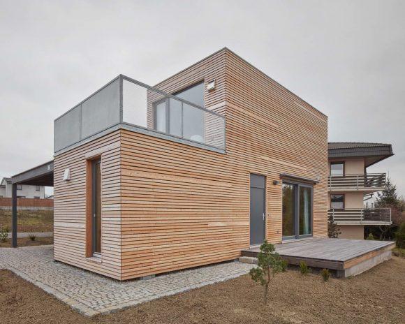 Простой модульный домик