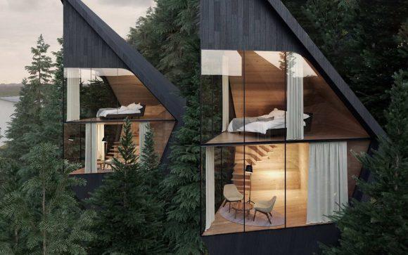 Лесные домики для отдыха