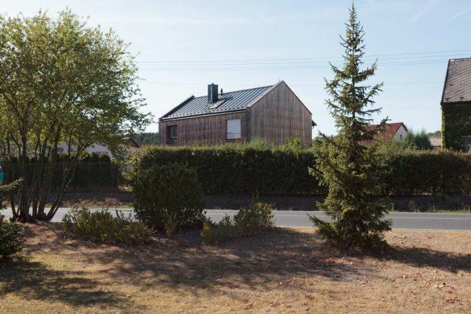 Простой дачный дом в Чехии