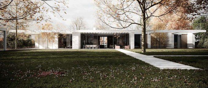 Проект дома-крепости, Архитектурная студия Чадо.