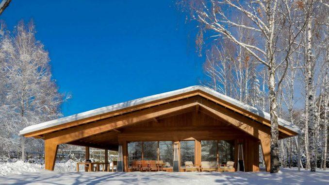 Деревянный модульный дом в Подмосковье